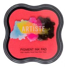 Подушка штемпельная пигментная, розовый