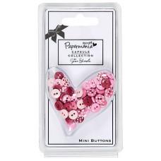 Набор мини-пуговиц Горошек Parkstone Pink