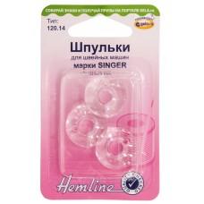 Шпульки для швейных машин пластиковые марки SINGER, класс 66К