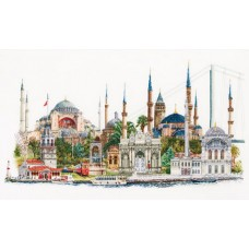 Набор для вышивания Стамбул, канва лён 36 ct