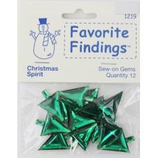 Набор декоративных элементов Favorite Findings Рождественски елочки