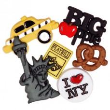 Набор декоративных элементов Favorite Findings Нью-Йорк