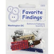 Набор декоративных элементов Favorite Findings Вашингтон