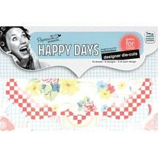 Набор высеченных элементов Happy Days