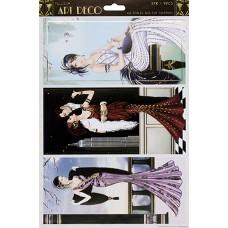 Набор высеченных элементов Бродвей Art Deco