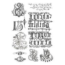 Набор переводных изображений (Transfer) Буквы
