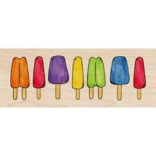 Штамп Ряд мороженого