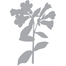Трафарет-маска  Весенний цветок