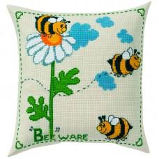 Подушка Пчёлки набор для вышивания