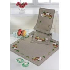 Скатерть Яблоки набор для вышивания