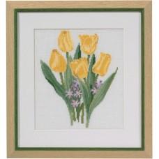 Набор для вышивания Жёлтые тюльпаны