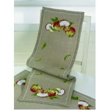 Дорожка Яблоки набор для вышивания