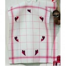 Полотенце Сердца набор для вышивания 2 шт в наборе