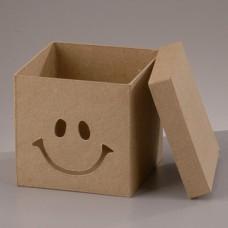 Заготовка из из картона, коробка Смайлик