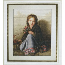 Набор для вышивания Портрет девочки , Luca-S