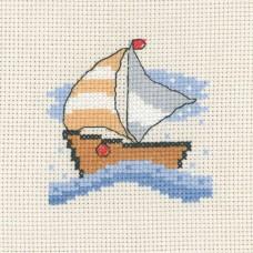 Набор для вышивания Лодка