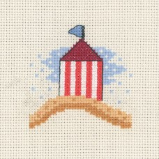 Набор для вышивания Домик на пляже