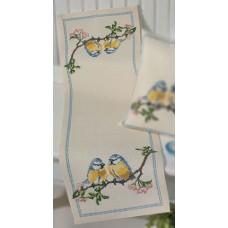Дорожка Птички набор для вышивания