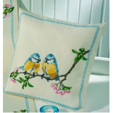 Подушка Лазоревка набор для вышивания