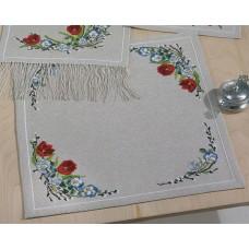 Скатерть Весенние цветы набор для вышивания