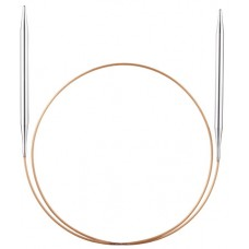 Спицы, круговые, супергладкие, экстрадлинные из никелированной латуни, №2, 200 см