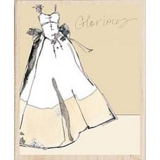 Штамп Свадебное платье