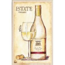 Штамп Белое вино