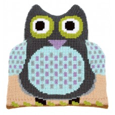 Подушка фигурная Сова набор для вышивания