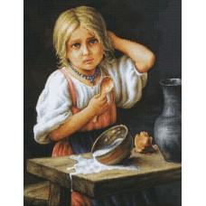 Набор для вышивания Крестьянка, Luca-S