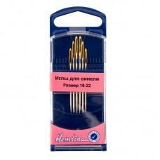 Иглы для синели в пластиковом контейнере №18-22, 6 шт