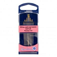 Иглы для модисток в пластиковом контейнере № 3-9, 10 шт