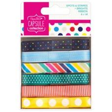 Набор лент Spots & Stripes Brights