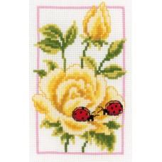 Набор для вышивания Жёлтые розы
