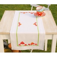 Дорожка Мухоморчики набор для вышивания