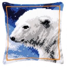 Подушка Полярный медведь набор для вышивания