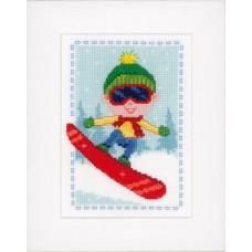 Набор для вышивания Сноубордист