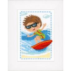 Набор для вышивания Сёрфингист
