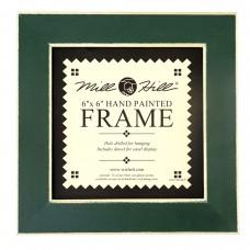 Рамка деревянная цвет зеленый