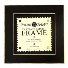 Рамка деревянная цвет черный