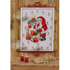 Набор для вышивания, календарь Санта Клаус