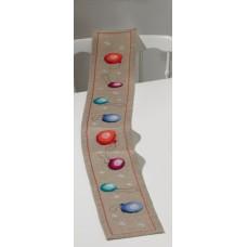 Дорожка Рождественские шары, набор для вышивания
