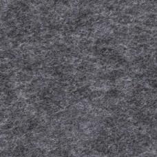 Лист фетра, 100% полиэстр, 30 х 45см х 2 мм / 350 г/м ?, черный крапчатый