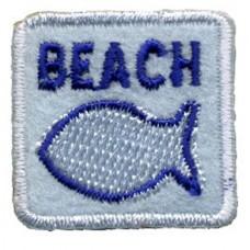 Термоаппликация HKM Пляж, 1 шт