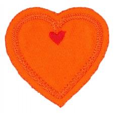Термоаппликация HKM Сердце, 1 шт