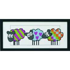Набор для вышивания Овечки