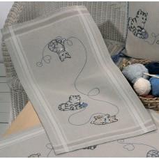 Дорожка Кошки набор для вышивания