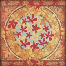 Салфетка рисовая Листья желтые