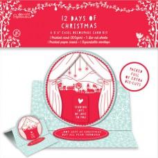 Набор для создания открытки 12 Дней Рождества