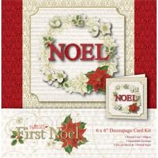 Набор для создания открытки First Noel