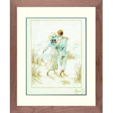 Набор для вышивания Romance LANARTE (арт.33787)